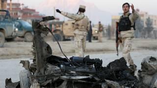 अफ़ग़ानिस्तान में हमले की फ़ाइल तस्वीर