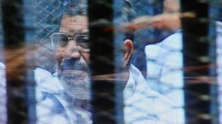 L'ex-président égyptien Mohamed Morsi est détenu depuis plusieurs mois.