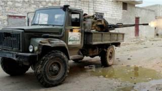 सीरिया में आत्मघाती हमला