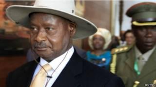 युगांडा के राष्ट्रपति