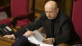 Олександр Турчинов каже, що Росія відмовляється від будь-яких контактів із новою українською владою