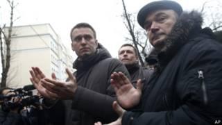 Навальный на Манежной площади