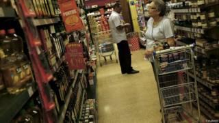 Supermercado em São Paulo, em foto de arquivo (Reuters)