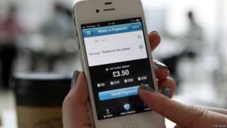 मोबाइल पर भुगतान