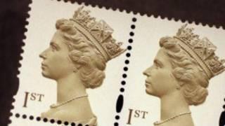 英國一等郵票