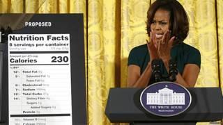 Michelle Obama e uma proposta de novo rótulo de alimentos (Reuters)
