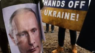 Путін, протест
