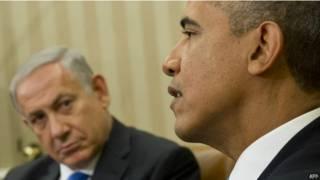 أوباما مع نتنياهو