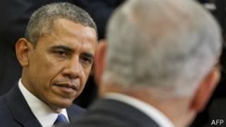 باراک اوباما و بنیامین نتانیاهو
