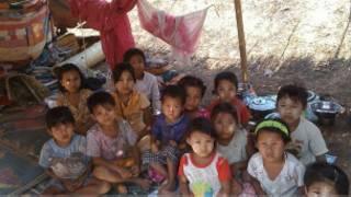 School Children in Dawkarli village