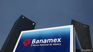 Sucursal de Banamex en Ciudad de México. Foto: AFP/Getty