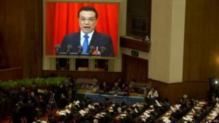 中国总理李克强发表任内首份政府工作报告(05/03/2014)