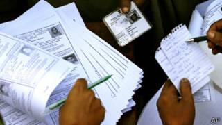 ثبتنام رای دهندگان