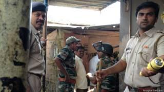 मुंबई में तेंदुए को पकड़ी पुलिस