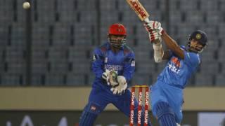 एशिया कप, भारत, अफ़गानिस्तान, शिखर धवन