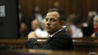 Oscar Pistorius en el tercer día de audiencias