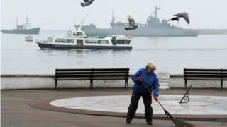 Sevastopol, na Crimeia (AFP)