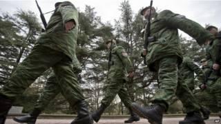 قوات موالية لروسيا في القرم