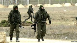 रूस समर्थक सैनिक