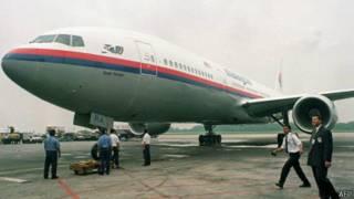 馬來西亞航空公司波音777-200型飛機資料照片