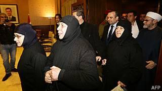 راهبههای آزاد شده