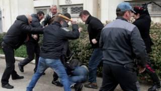 Столкновения в Севастополе