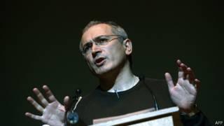 Михаил Ходорковский на лекции в Киеве