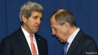Kerry na Lavrov