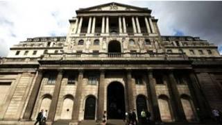 位于伦敦东城金融城中心的英格兰银行大楼
