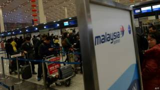 Check-in na Malaysia Airlines (AFP)