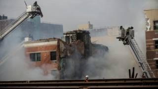 न्यूयॉर्क इमारत धमाका