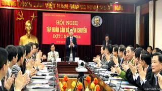 Luân chuyển cán bộ lãnh đạo của Đảng