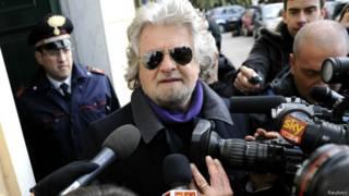 Beppe Grillo (foto: Reuters)