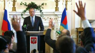 Sergei Lavrov | Crédito: Reuters