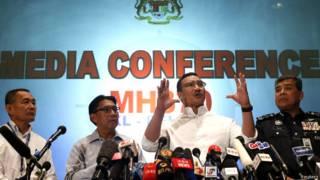 Ministro dos Transportes da Malásia fala sobre desaparecimento de avião   Crédito: Reuters