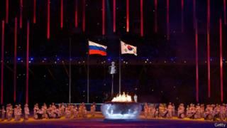 حفل ختام أولمبياد سوتشي للمعاقين  في روسيا