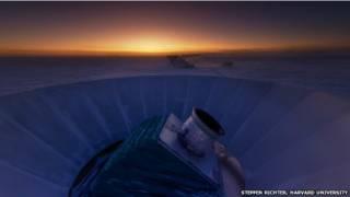 Телескоп на Южном полюсе