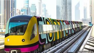 दुबई ट्रेन