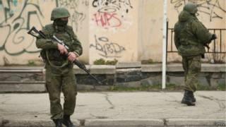 Солдаты в Крыму