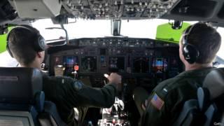 मलेशिया के लापता विमान की तलाश