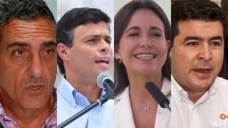 Líderes de la oposición