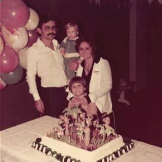 Foto da família Uchoa, em 1979 (Arquivo familiar)