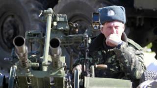 यूक्रेनियन सैनिक