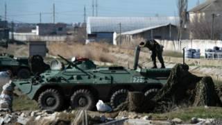 Военная база в Феодосии
