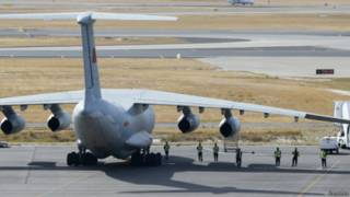 avião chinês envolvido nas buscas | Reuters