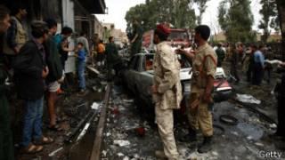 قوات أمن يمنية تحاصر موقع هجوم إرهابي في العاصمة صنعاء