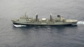 आस्ट्रेलियाई नौसेना का जहाज