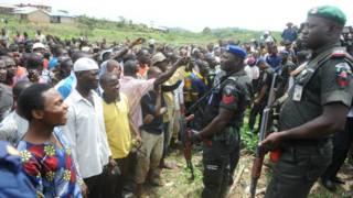 Беспорядки в Нигерии