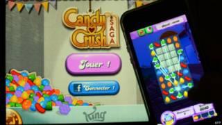 手機遊戲Candy Crus