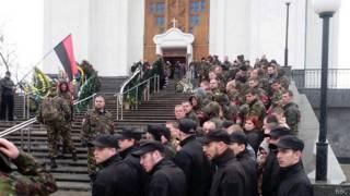Похороны Александра Музычко